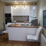 <p>Организация кухонного пространства островного типа</p>
